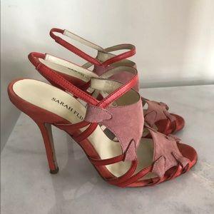 Sarah Flint Pink Stiletto Sandal